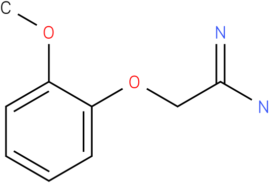 2-(2-methoxyphenoxy)acetamidine