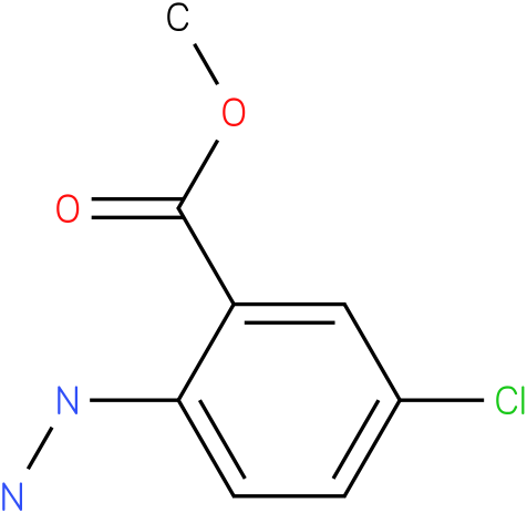 methyl 5-chloro-2-hydrazinylbenzoate