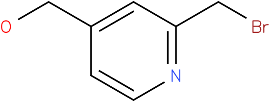 (2-(bromomethyl)pyridin-4-yl)methanol