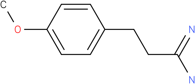 3-(4-methoxyphenyl)propanamidine