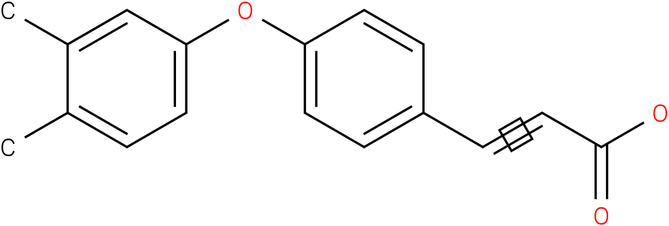 3-(4-(3,4-dimethylphenoxy)phenyl)acrylic acid