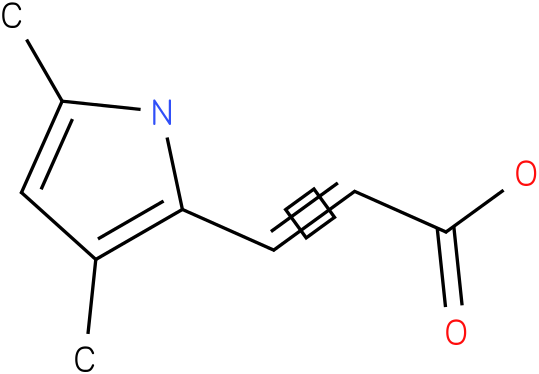 3-(3,5-dimethyl-1H-pyrrol-2-yl)acrylic acid