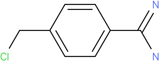 4-(chloromethyl)benzamidine