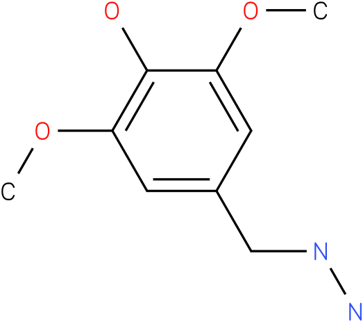 1-(4-hydroxy-3,5-dimethoxybenzyl)hydrazine