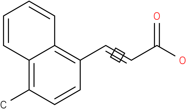 (E)-3-(1-methylnaphthalen-4-yl)acrylic acid