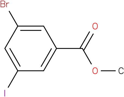 methyl 3-bromo-5-iodobenzoate