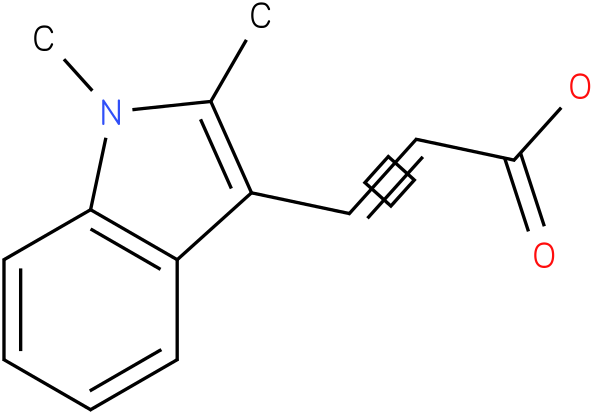 3-(1,2-dimethyl-1H-indol-3-yl)acrylic acid