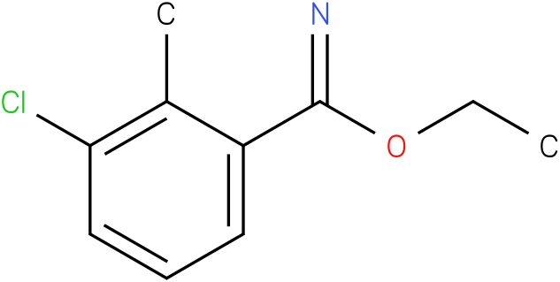 ethyl 3-chloro-2-methylbenzoimidate
