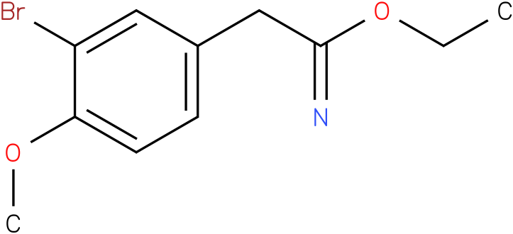 ethyl 2-(3-bromo-4-methoxyphenyl)acetimidate