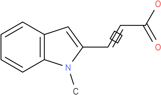 (E)-3-(1-methyl-1H-indol-2-yl)acrylic acid