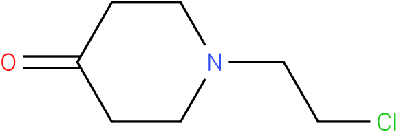 1-(2-chloroethyl)piperidin-4-one
