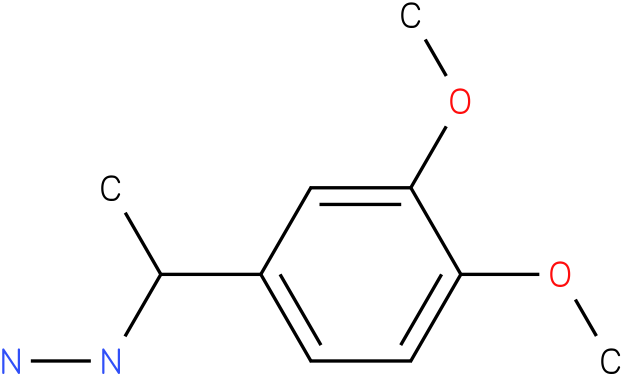 1-(1-(3,4-dimethoxyphenyl)ethyl)hydrazine
