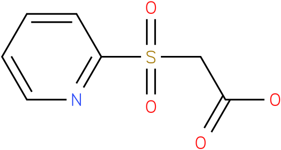 2-(pyridin-2-ylsulfonyl)acetic acid