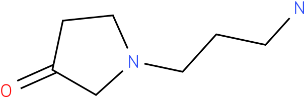 1-(3-aminopropyl)pyrrolidin-3-one