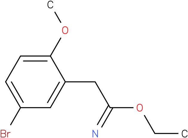 ethyl 2-(5-bromo-2-methoxyphenyl)acetimidate