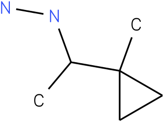 1-(1-(1-methylcyclopropyl)ethyl)hydrazine