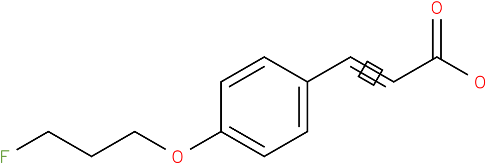 3-(4-(3-fluoropropoxy)phenyl)acrylic acid