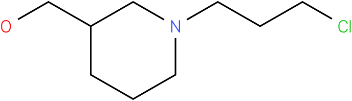 (1-(3-chloropropyl)piperidin-3-yl)methanol