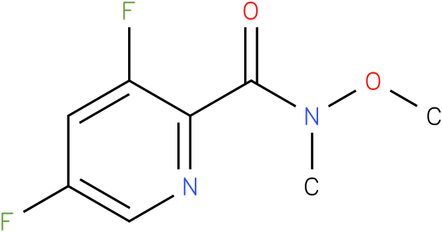 3,5-difluoro-N-methoxy-N-methylpicolinamide