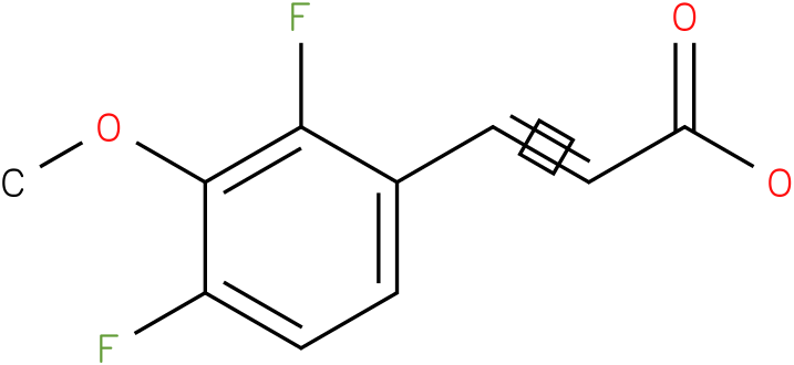 (E)-3-(2,4-difluoro-3-methoxyphenyl)acrylic acid