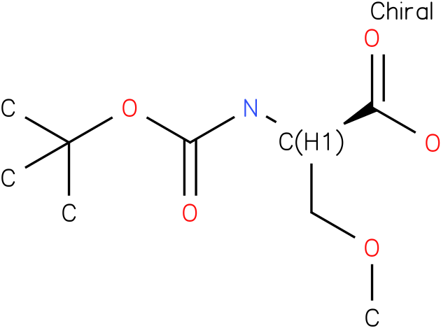 D-Serine, N-[(1,1-dimethylethoxy)carbonyl]-O-methyl- (9CI)