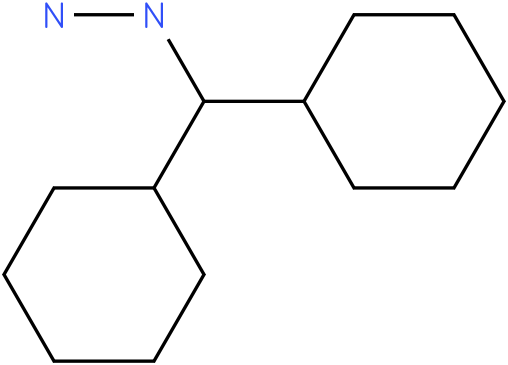 1-(dicyclohexylmethyl)hydrazine