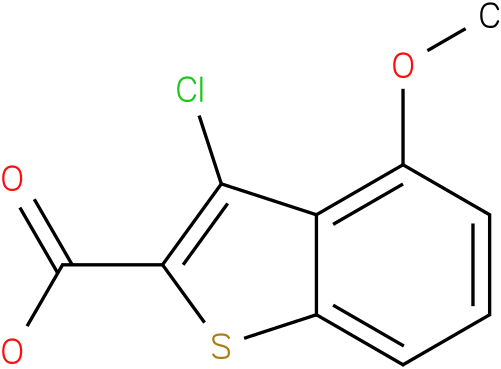 3-chloro-4-methoxybenzo[b]thiophene-2-carboxylic acid