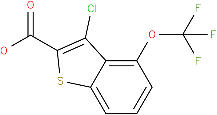 3-chloro-4-(trifluoromethoxy)benzo[b]thiophene-2-carboxylic acid
