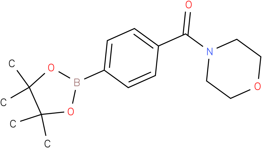MORPHOLIN-4-YL-[4-(4,4,5,5-TETRAMETHYL-1,3,2-DIOXABOROLAN-2-YL)-PHENYL]-METHANONE