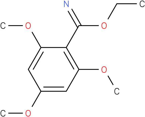 ethyl 2,4,6-trimethoxybenzoimidate