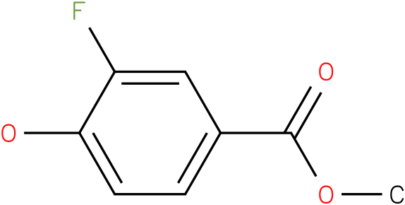 3-FLUORO-4-HYDROXY-BENZOIC ACID METHYL ESTER