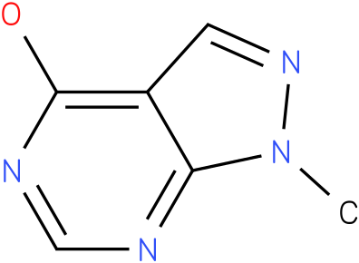 1-METHYL-1,5-DIHYDRO-4H-PYRAZOLO[3,4-D]PYRIMIDIN-4-ONE