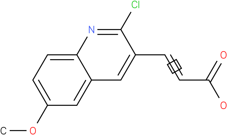 3-(2-chloro-6-methoxyquinolin-3-yl)acrylic acid