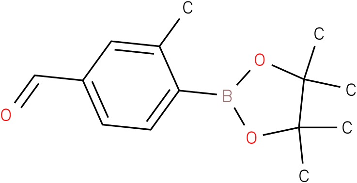 3-METHYL-4-(4,4,5,5-TETRAMETHYL-1,3,2-DIOXABOROLAN-2-YL)BENZALDEHYDE