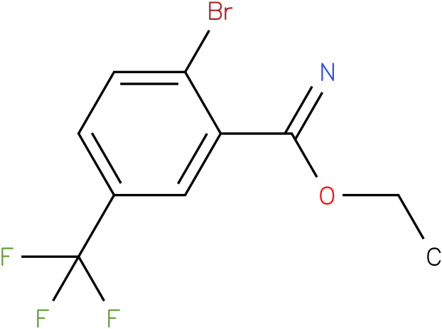 ethyl 2-bromo-5-(trifluoromethyl)benzoimidate