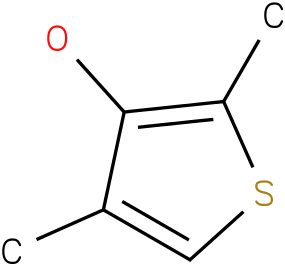 3-Hydroxy-2,4-dimethylthiophene