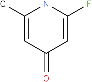 2-Fluoro-4-hydroxy-6-methyl pyridine