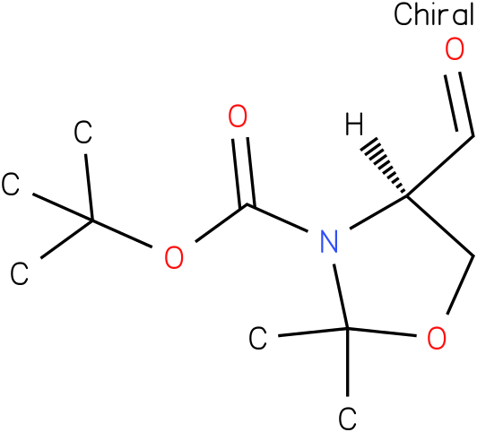 (R)-(+)-3-Boc-2,2-dimethyloxazolidine-4-carboxaldehyde