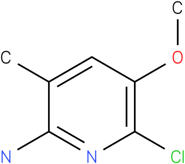 6-chloro-5-methoxy-3-methylpyridin-2-amine