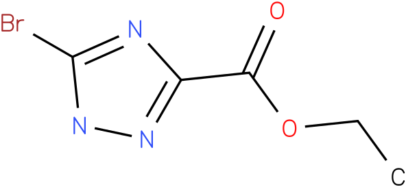 Ethyl 5-bromo-1H-1,2,4-triazole-3-carboxylate