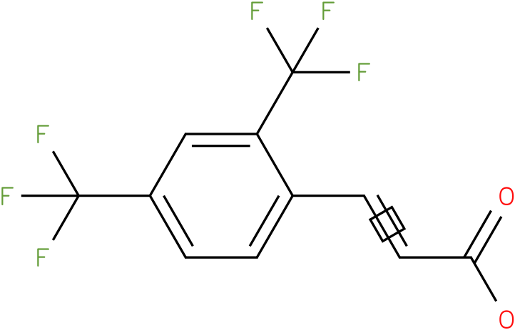(E)-3-(2,4-bis(trifluoromethyl)phenyl)acrylic acid