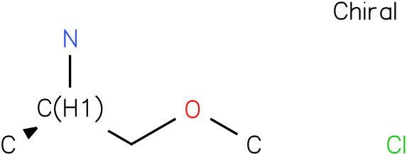 (R)-1-Methoxypropan-2-amine hydrochloride