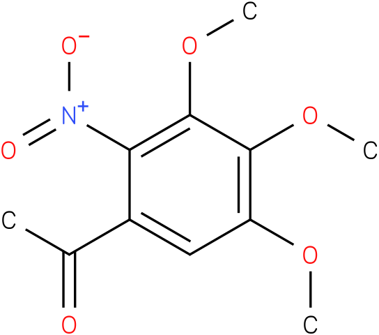 1-(3,4,5-Trimethoxy-2-nitrophenyl)ethanone