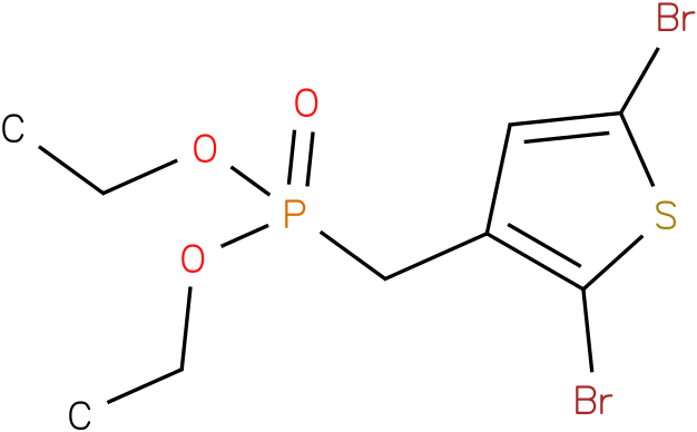 DIETHYL (2,5-DIBROMOTHIOPHEN-3-YL)METHYLPHOSPHONATE