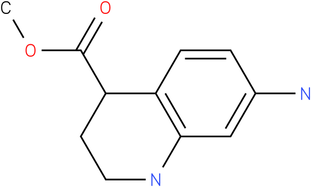methyl 7-amino-1,2,3,4-tetrahydroquinoline-4-carboxylate