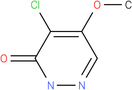 4-chloro-5-methoxypyridazin-3(2H)-one