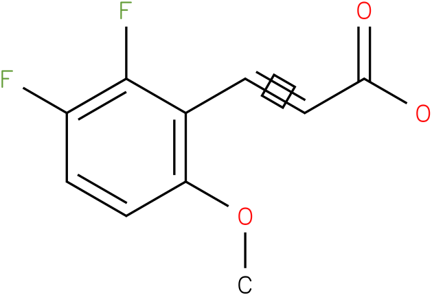 (E)-3-(2,3-difluoro-6-methoxyphenyl)acrylic acid