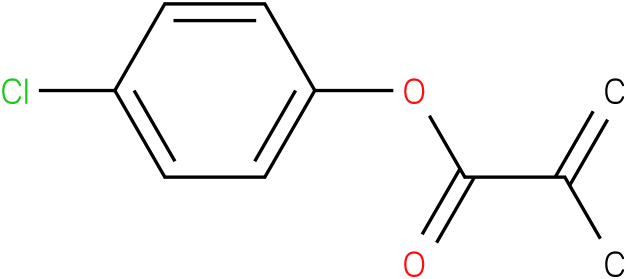 2-Methyl-2-propenoic acid, 4-chlorophenyl ester