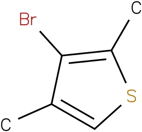 3-Bromo-2,4-dimethylthiophene