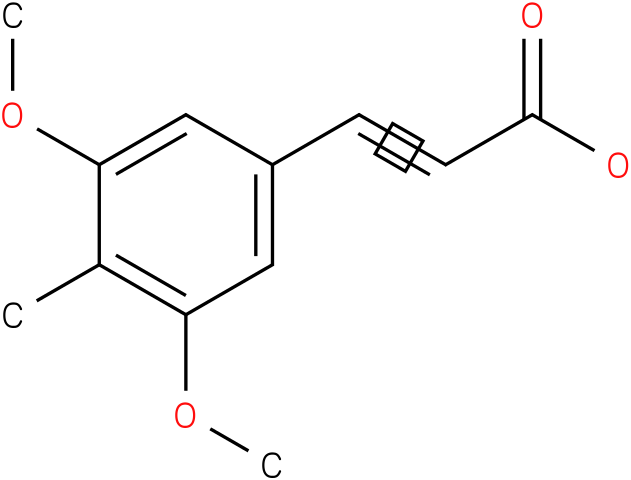 (E)-3-(3,5-dimethoxy-4-methylphenyl)acrylic acid